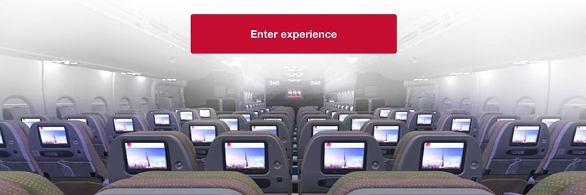 에미레이트 항공, 항공기 VR 투어 서비스 출시!