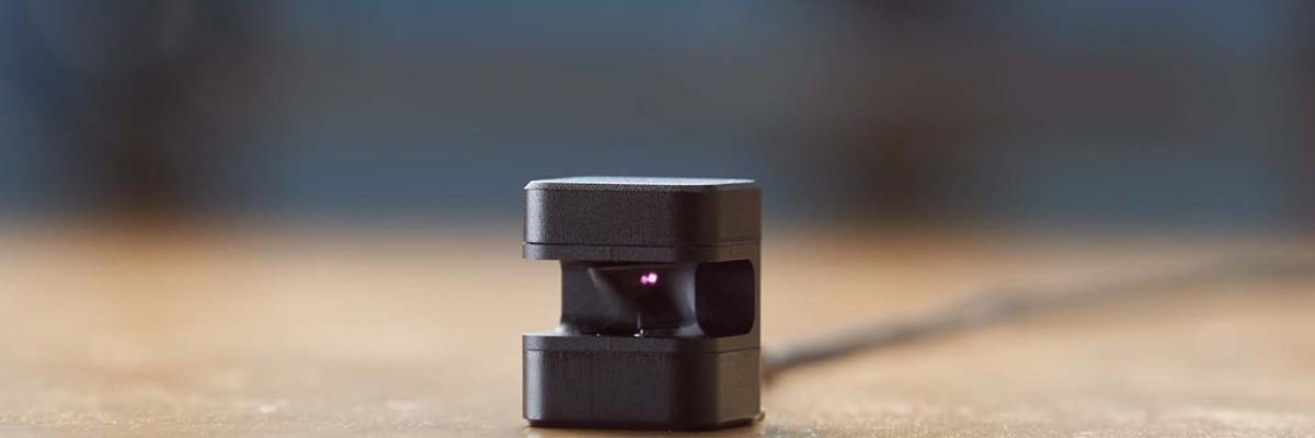 라이다 기술로 탄생한 모션 인식 장치 '글라모스'