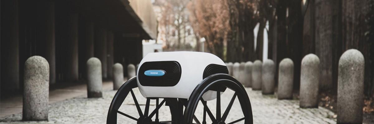 우산처럼 접어서 휴대할 수 있는 신개념 휠체어